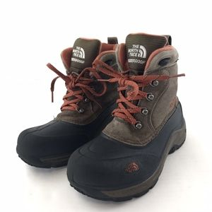 The North Face Boy's Garcons Winter Boots Size 4